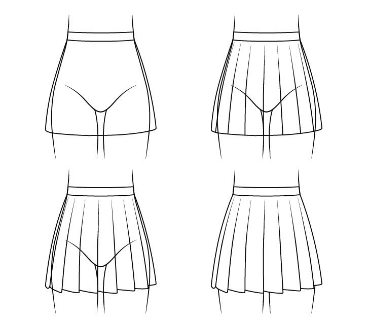 Gambar rok sekolah anime selangkah demi selangkah