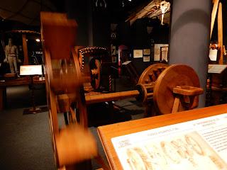 LEONARDO INTERACTIVE MUSEUMの展示模型