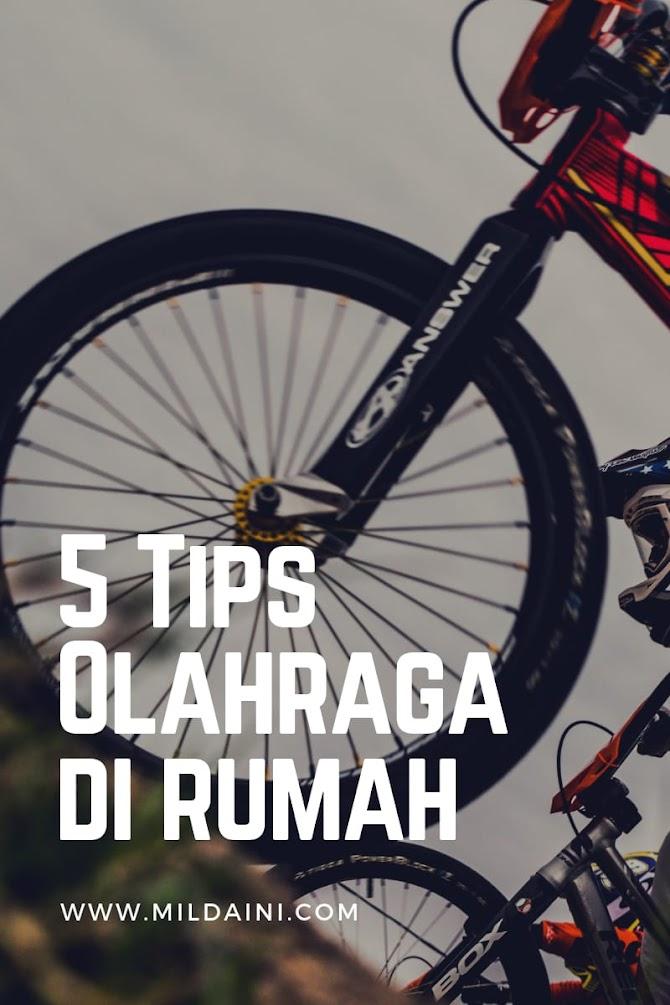 5 Tips Melakukan Olahraga di Rumah