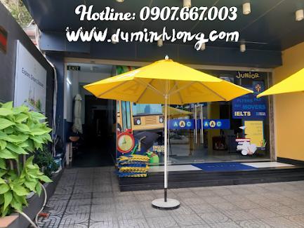 Hình Dù che quán cà phê tại Phan Thiết thực tế