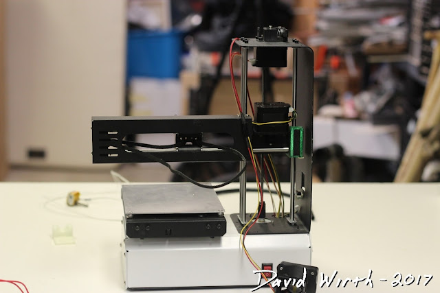 disassembled 3d printer, monoprice