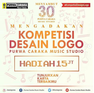 Lomba Desain Logo 2018 Purwa Caraka Musik Studio