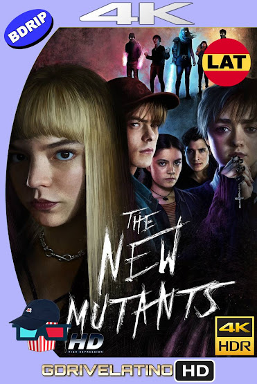 Los Nuevos Mutantes (2020) BDRip 4K HDR Latino-Ingles MKV