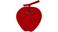 apple animated clipart