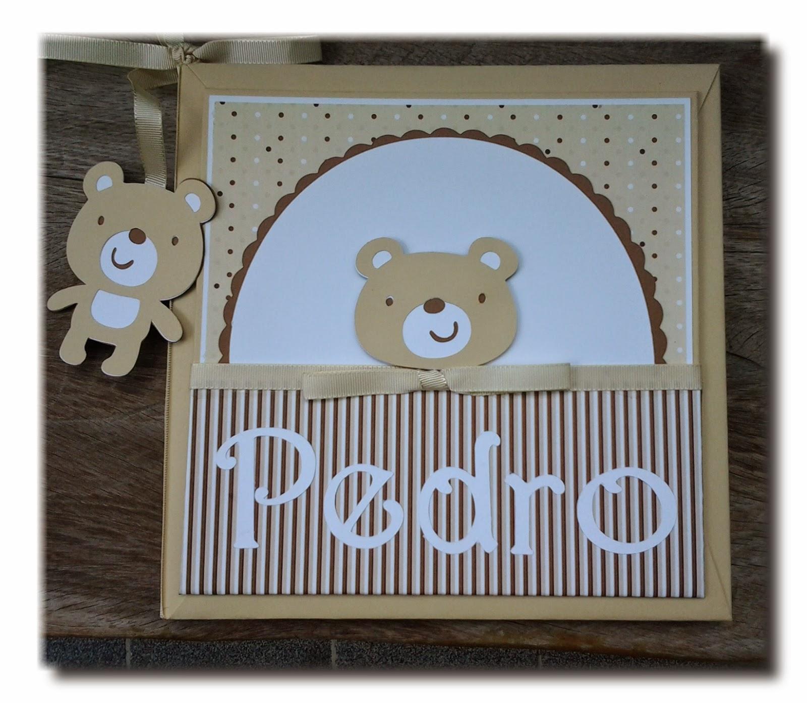 e310f8639 Amor no Papel  Livro do Bebê personalizado para menino scrapbook