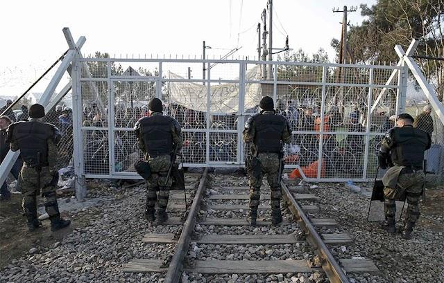 """EU-Kommission wegen Grenze in Mazedonien """"sehr besorgt"""""""