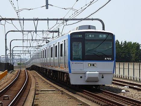相模鉄道 各停 二俣川行き7 9000系幕車(2015.5.31ダイヤ改正で日中廃止)