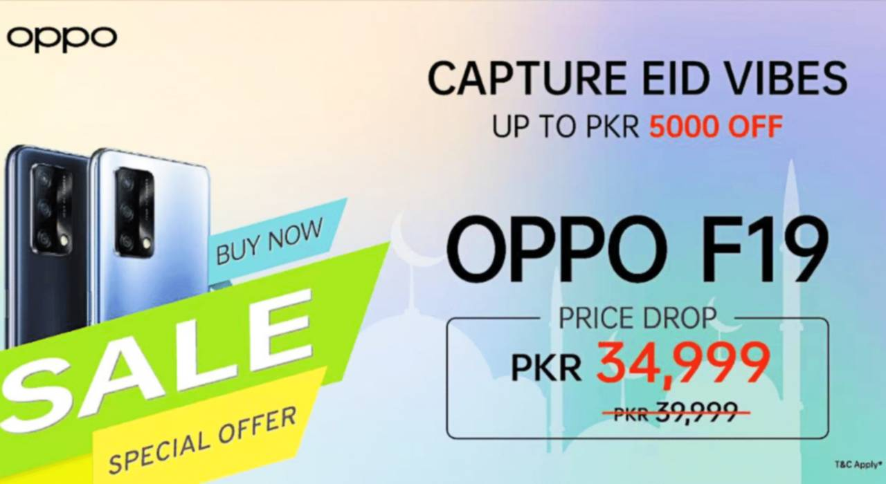OPPO F19 Down to an Amazing New Price