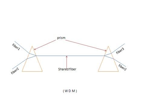 Wavelength division multiplexing (WDM)