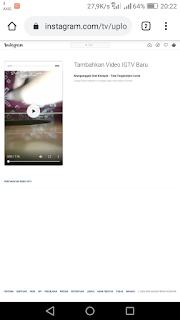 Cara Upload IGTV Tanpa Aplikasi Instagram