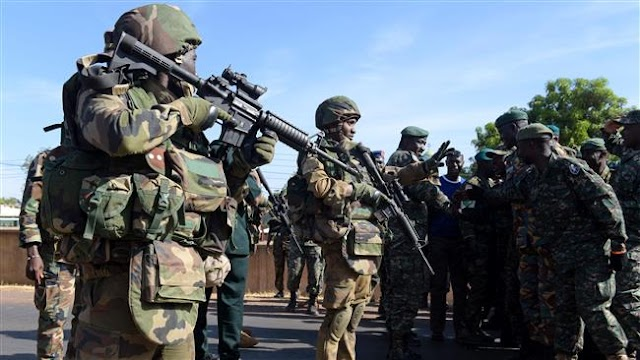 West African troops in Gambia to secure transfer of power to new president
