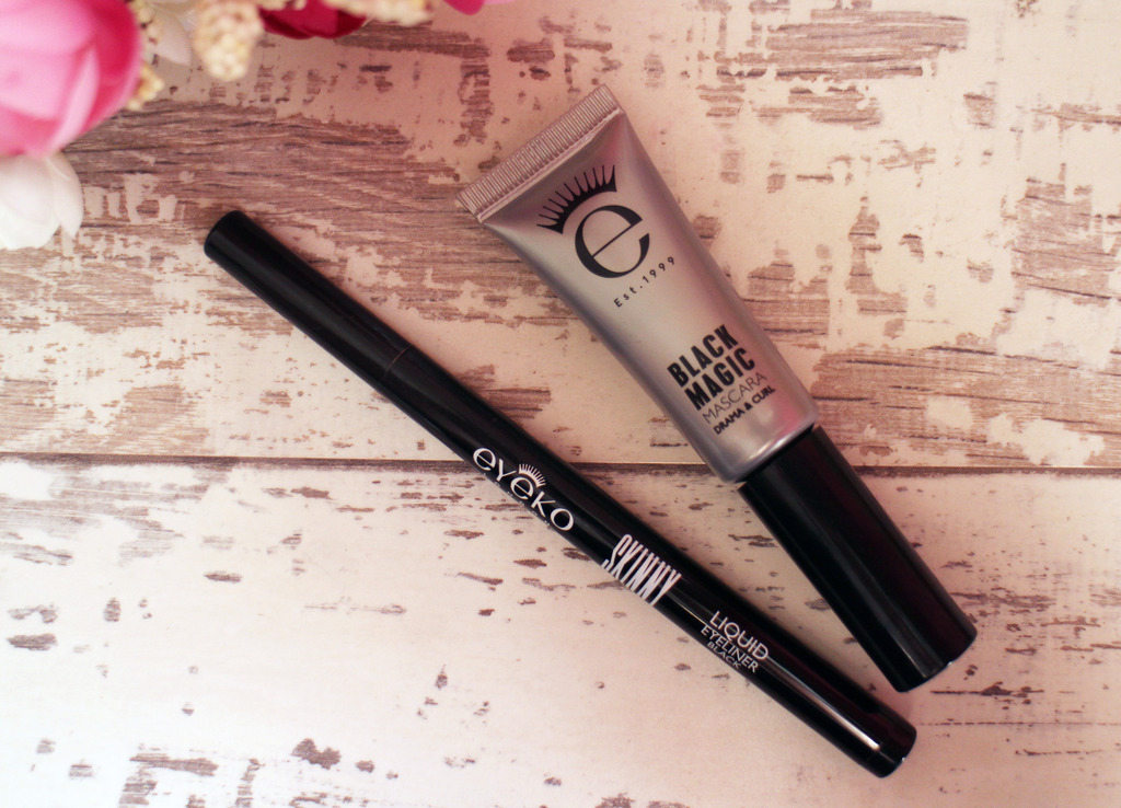 Initial Impressions | Eyeko Skinny Liquid Liner & Black Magic Drama and Curl Mascara
