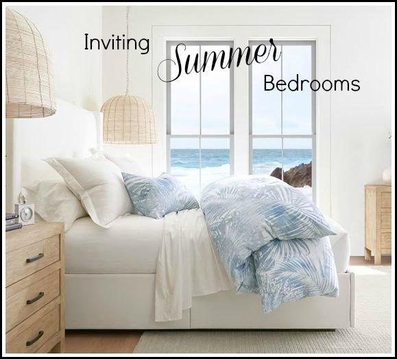 Bedroom summer decor