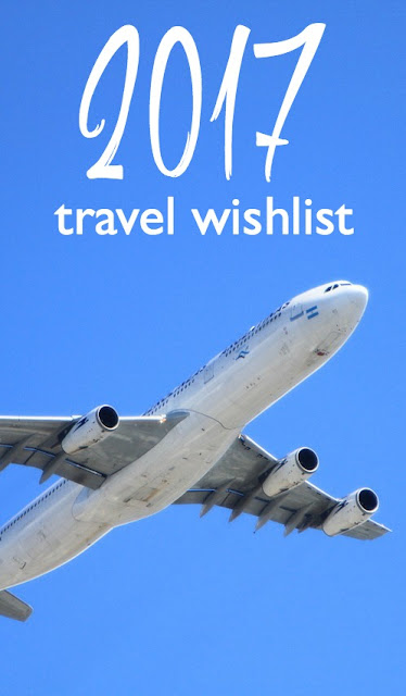 Our 2017 Travel Wishlist | CosmosMariners.com