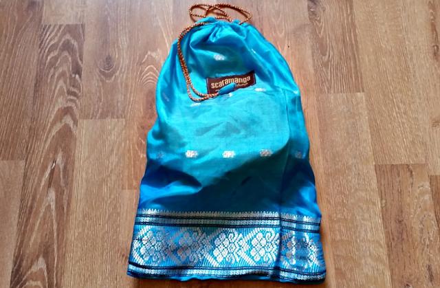 Packaging for Scaramanga bag