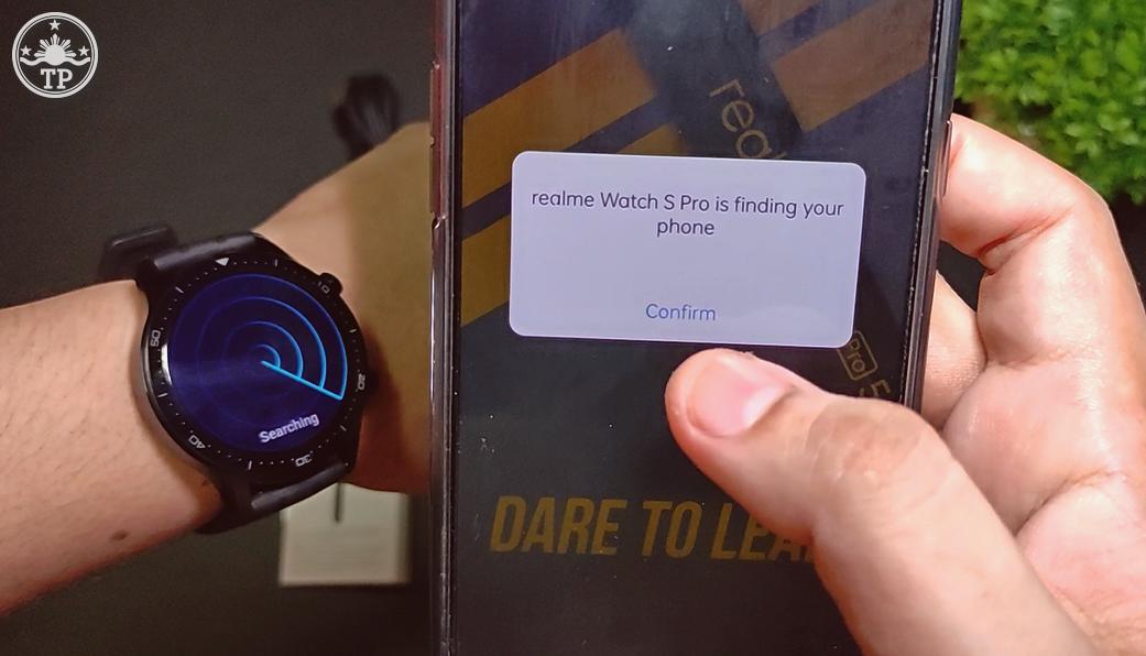 realme Watch S Pro GPS Tracker