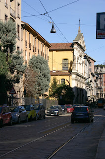 The church of Santa Maria at Paradiso in Milan, where Bearzot is buried