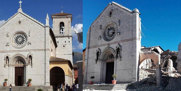 Italian strong earthquake takes heavy toll on historic buildings