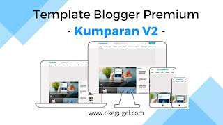 Kumparan V2 Template Blogger Premium