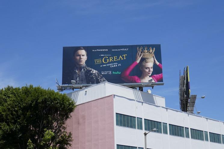 The Great TV series billboard
