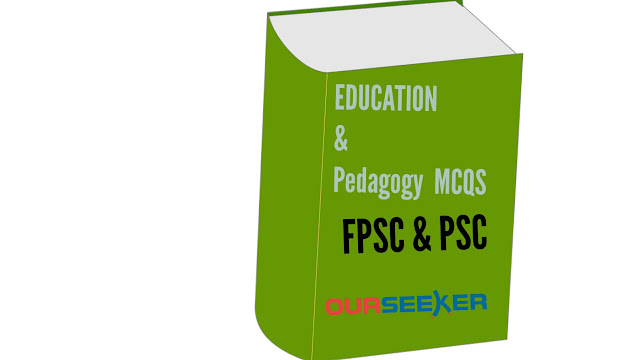 Education and Pedagogy MCQS book pdf