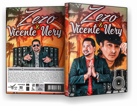 DVD ZEZO &VICENTE NERY 2019 - ISO