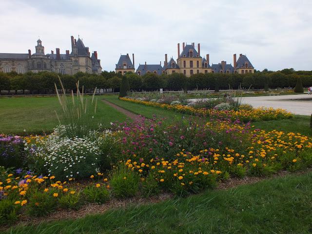 El palacio de Fontainebleau Francia