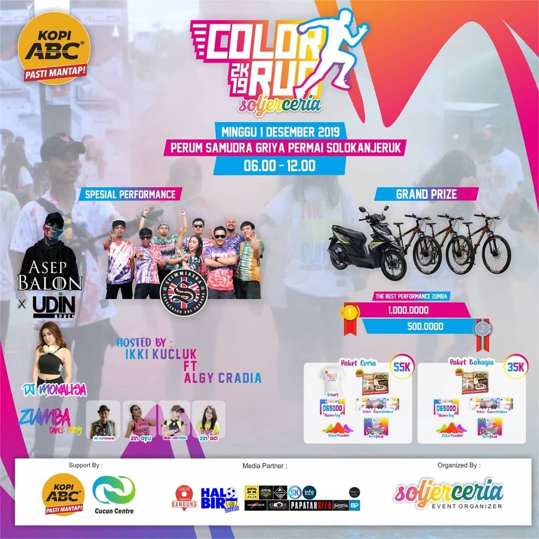 Color Run Soljer Ceria • 2019