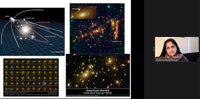 Some examples of gravitational lens systems (Source: Priyamvada Natarajan, 237th AAS Meeting)