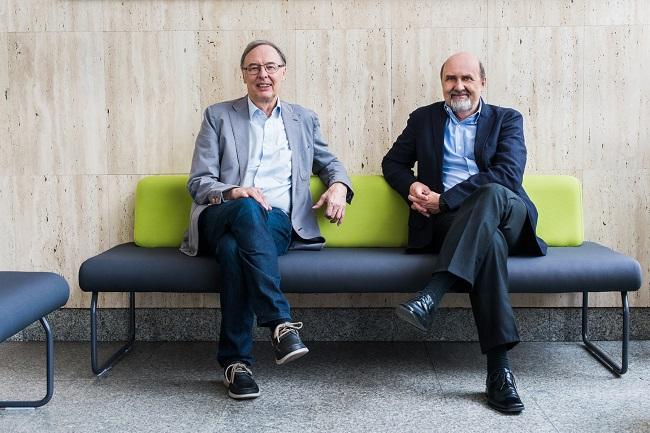 prof. T. Dietl, prof. T. Wojtowicz - fot. One HD