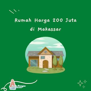 Rumah harga 200 juta di Makassar
