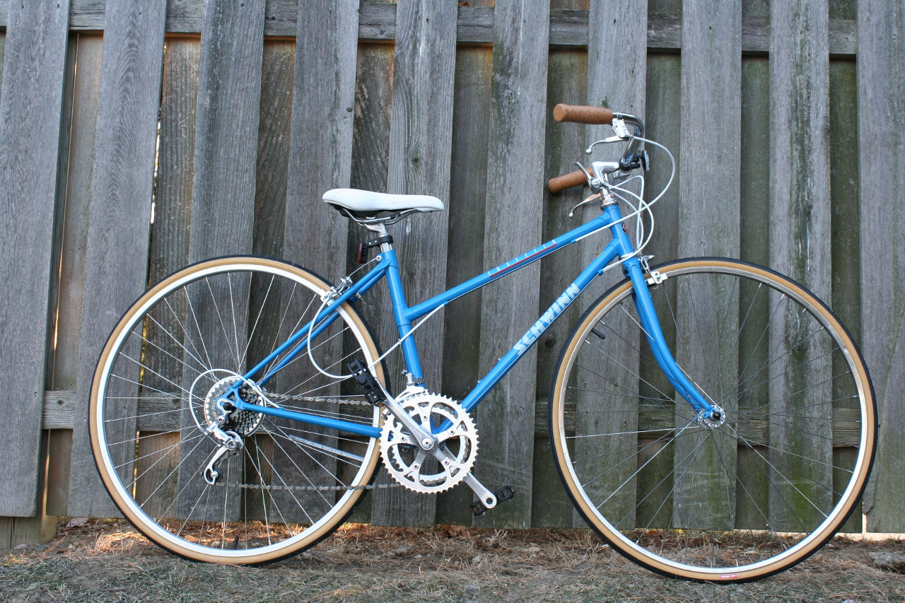 e316176d1bc John's Bicycle Restorations: 1980's Schwinn Traveler Restored ...