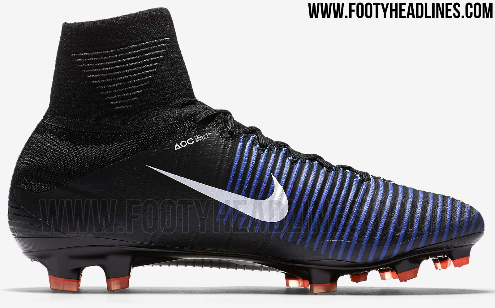 Black Nike Mercurial Superfly 5 Dark Lightning Boots ...