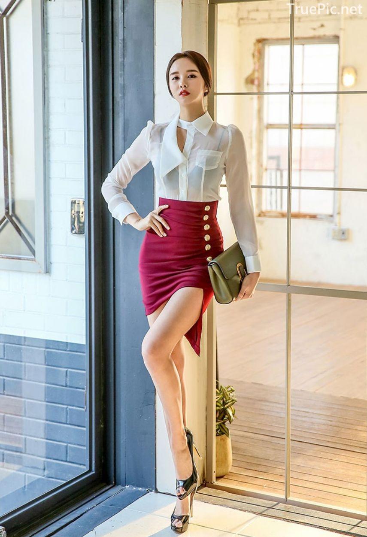 Korean Fashion Model - Chloe Kim - Indoor Photoshoot Collection - TruePic.net - Picture 8
