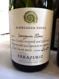 Errázuriz Aconcagua Costa Sauvignon Blanc 2017 (89 pts)