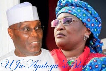 Aisha Alhassan Joins Atiku? Oh No! ...See What She Just Did This Afternoon At Aso Rock Shortly After Meeting Buhari