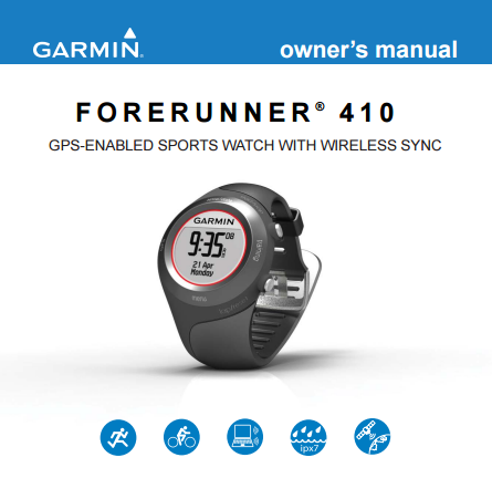 garmin forerunner user guide how to and user guide instructions u2022 rh taxibermuda co Garmin Forerunner 220 Garmin Forerunner 305