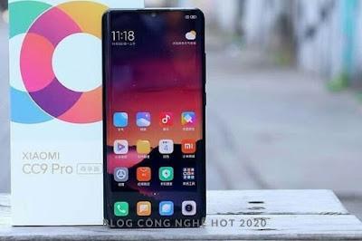 Ngoại hình Xiaomi CC9 Pro đẹp không có gì bàn cãi