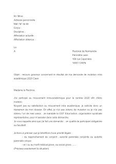 Lettre D Info Mutations Intra 2020 Cgt Educ Action Academie De Caen Normandie