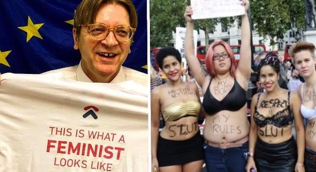 A nőnap, amikor lebuknak a feministák és kiherélt férfijanicsárjaik