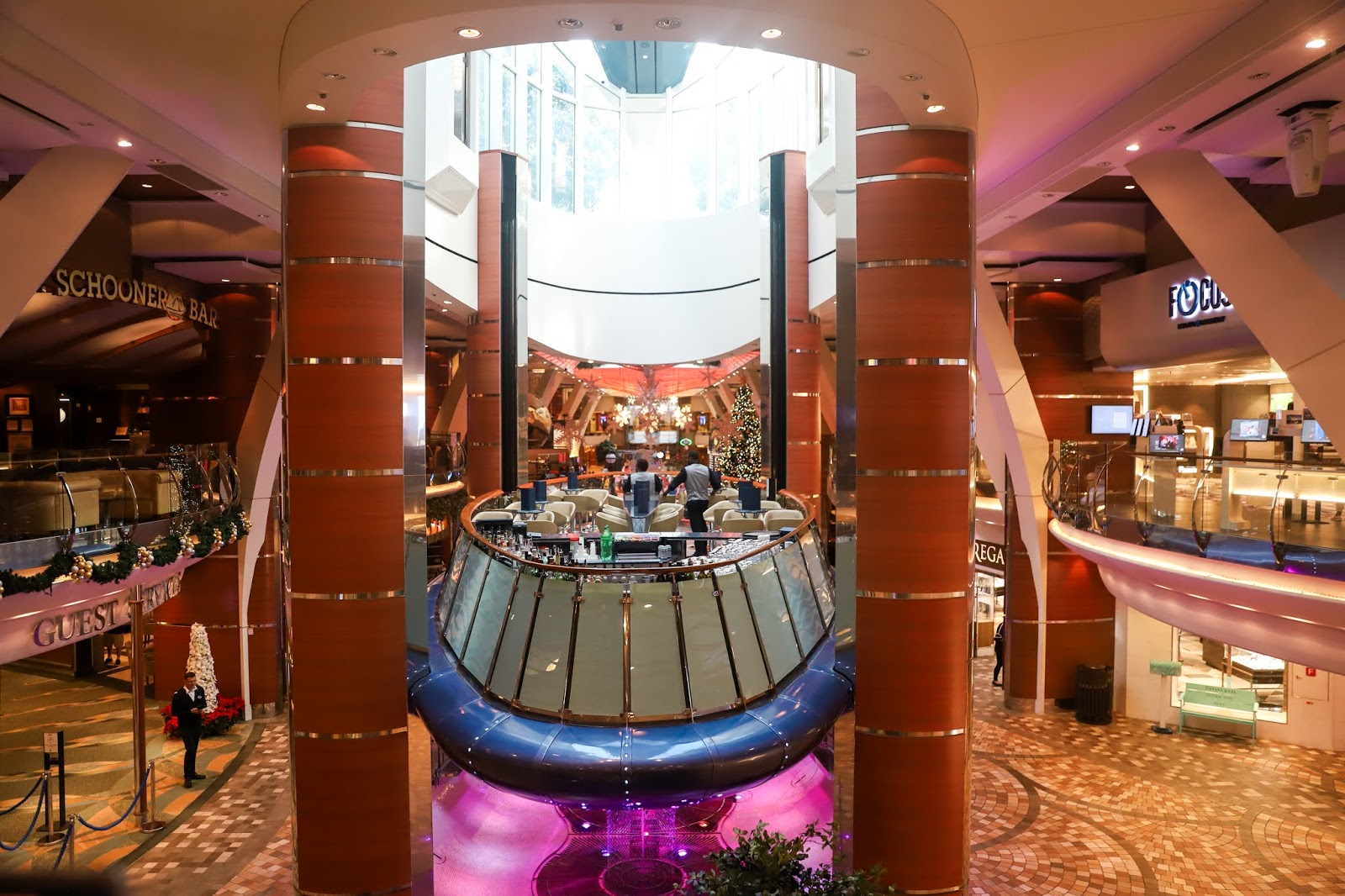 Promenade | Oasis of the Seas Couple's Review