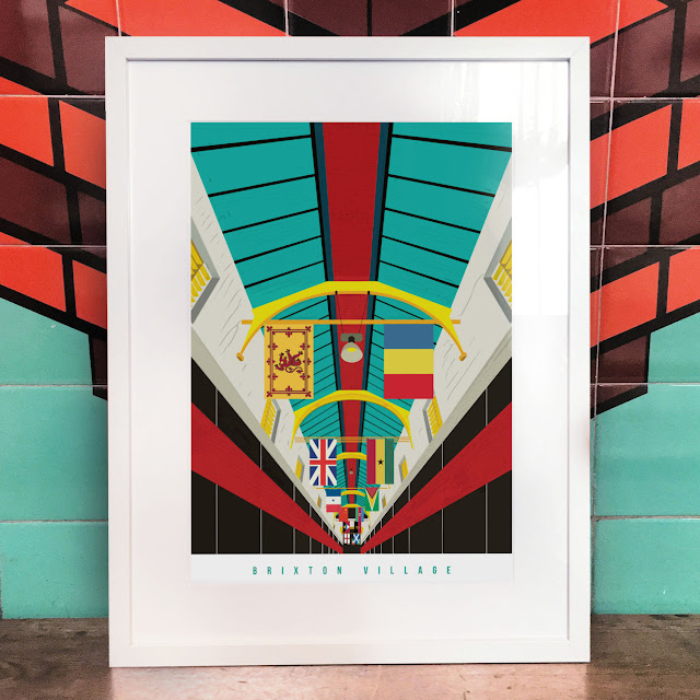 Brixton Village Art Print