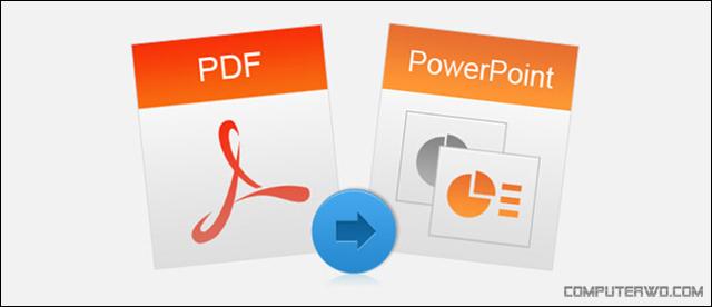 كيفية تحويل ملف PDF إلى PowerPoint Pdf-to-powerpoint