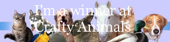 2 x Crafty Animals Winner