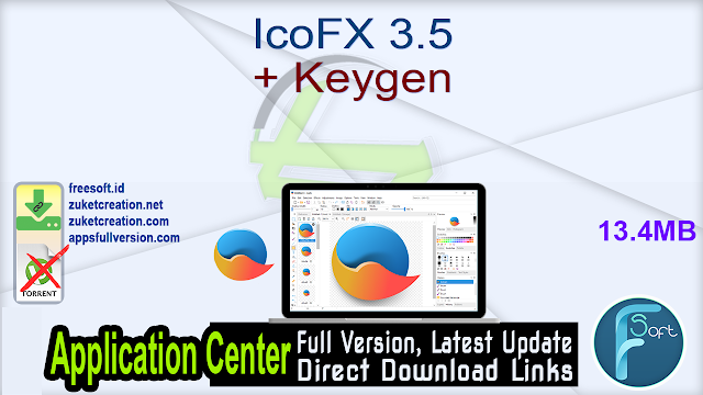 IcoFX 3.5 + Keygen