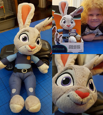 Officer Judy Hopps Soft Toy Plush Review Tomy