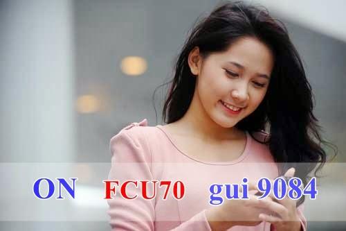 Đăng ký 3G gói FCU70 cho USB Fast Connect Mobifone
