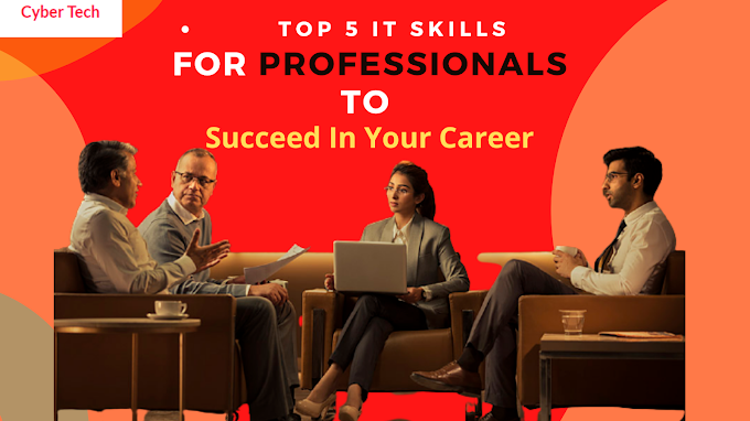 Top 5 IT Skills For Professionals To Succeed In Your Career