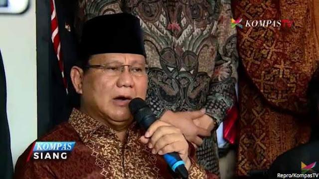 Prabowo: Indonesia Tak Lagi Memiliki Kekayaan Nasional, Karena Pemerintah Hobinya Ngutang