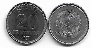 20 centavos, 1987